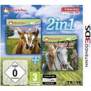 2in1: Mein Fohlen 3D + Mein Reiterhof 3D - Rivalen im Sattel [Nintendo 3DS]
